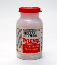 Tylenol became the primary pain medication in the 1955s.